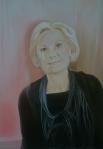 Melitta 2017 Acryl/Öl/Leinwand 80 x 70 cm