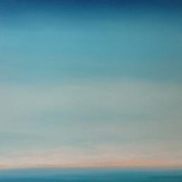 Blue Touch 2016 Acryl/Öl/Leinwand 80 x 100 cm