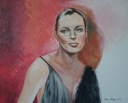 Romy 2015 Acryl auf Leinwand 80 x 100 cm