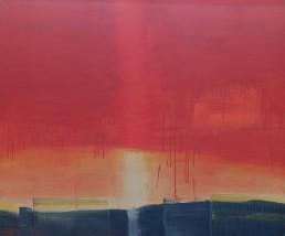 Shining Berlin 2013 Acryl auf Leinwand 110 x 130 cm