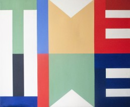 Time 2012 Acryl/Öl/Leinwand 120 x 140cm