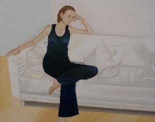 Ursula 2007 Öl auf Leinwand 80 x 100 cm